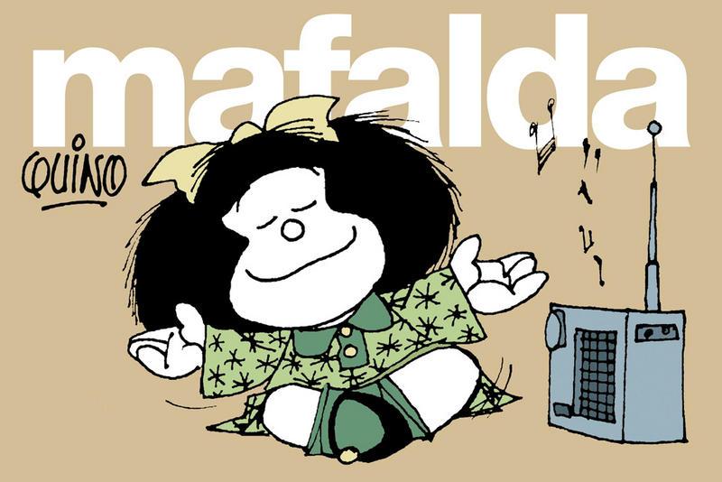 Frases de Mafalda por Quino: ¡Genial!